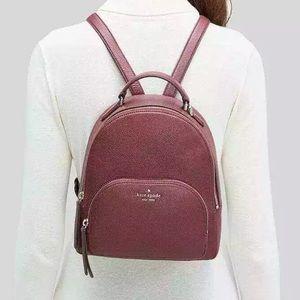 Kate spade medium Jackson backpack cherrywood bag • Firm price Holiday Shop •